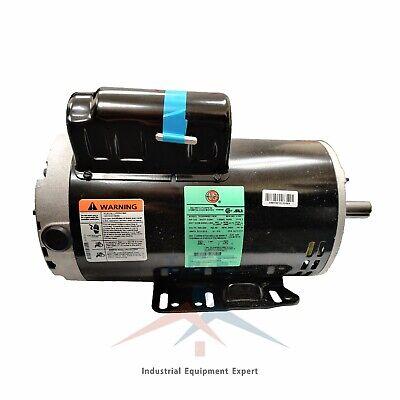 5 Hp 3450 Rpm Electric Motor Compressor Duty 56 Frame 1 Phase 78 Shaft