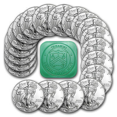 2014 1 oz Silver American Eagle Coin - Lot of 20 Coins - SKU #79747