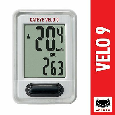 CAT EYE Cycle computer VELO 9 CC-VL 820 Black From Japan