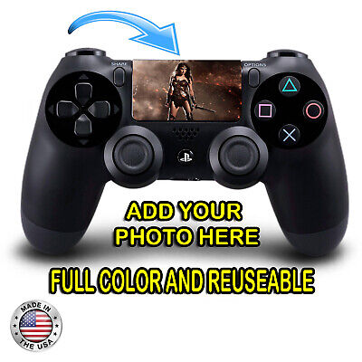 Personalized PS4 Controller Custom Touchpad Full Color Decal Removable Reuseable