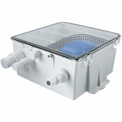 Boat Marine Shower Sump Pump Drain Kit System Multi-port Inlet DC 12v - 750 GPH ()