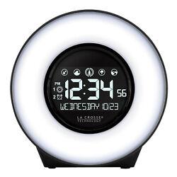 C83117 La Crosse Technology Mood Light & Nature Sound Alarm Clock - Refurbished