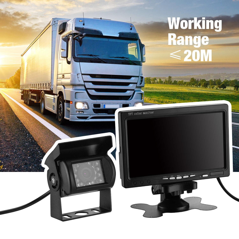 RV Truck Bus Wireless Rear View Backup Camera Night Vision S