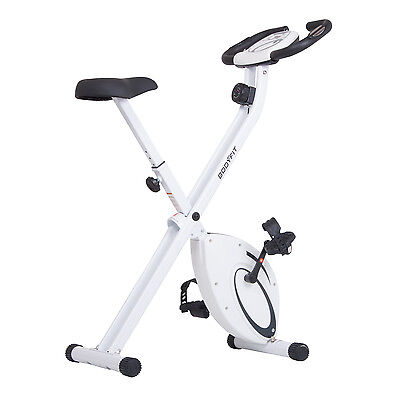 OVERSTOCK SALE! Exercise Bikes Folding Upright Exercise Bike with Heart Rate