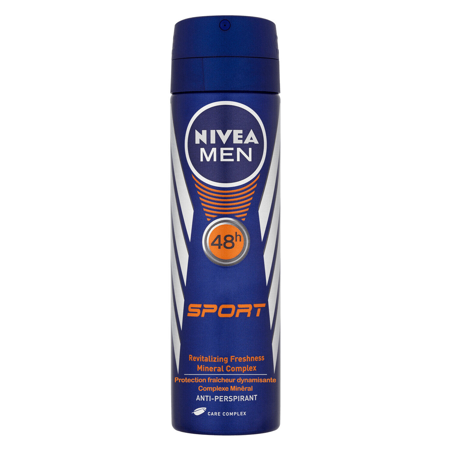 3 x Nivea MEN SPORT Mineral Complex Body Spray Deodorant Ant