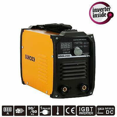 Mini Handheld Mma200 Amp Stick Welding Machine Igbt 110v220v Dc Inverter Welder