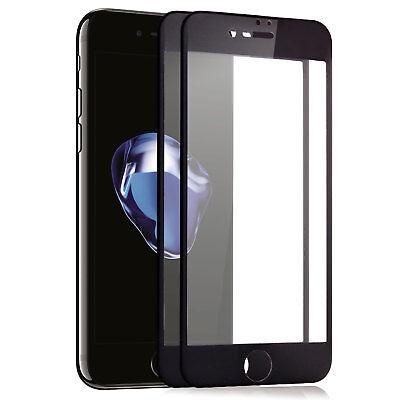 """2x 3D Schutzfolie für iPhone 7 4,7"""" 9H-Panzer Glasfolie Cover Displayschutz Glas"""