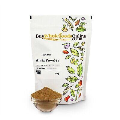 Organic Amla Powder 250g   Buy Whole Foods Online   Free UK P&P