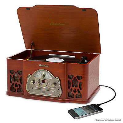 Electrohome Nostalgia EANOS501 Record/CD Turntable - 78, 33