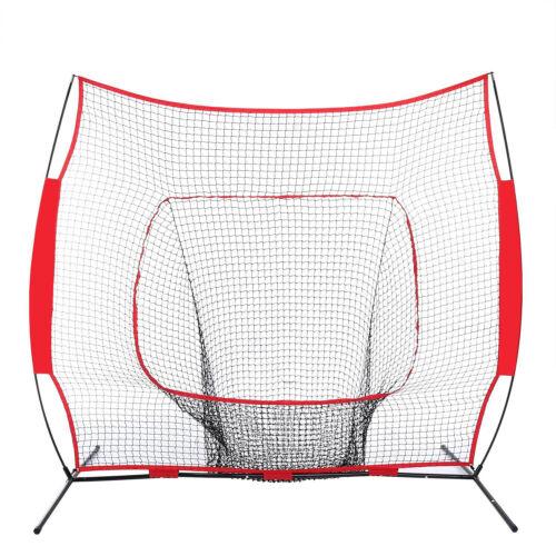 Baseball 7 x 7′ Net Practice Hitting Pitching Batting and Catching with Bag Baseball & Softball