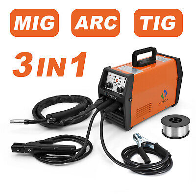 Gasless Mig Welder 110220v Dual Volt Arc Lift Tig Mig Flux Core Welding Machine