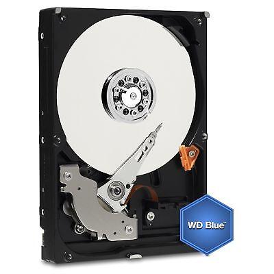 Western Digital 6 TB Festplatte 6000 GB interne 3,5 Zoll SATA 3 WD60EZRZ WD Blue