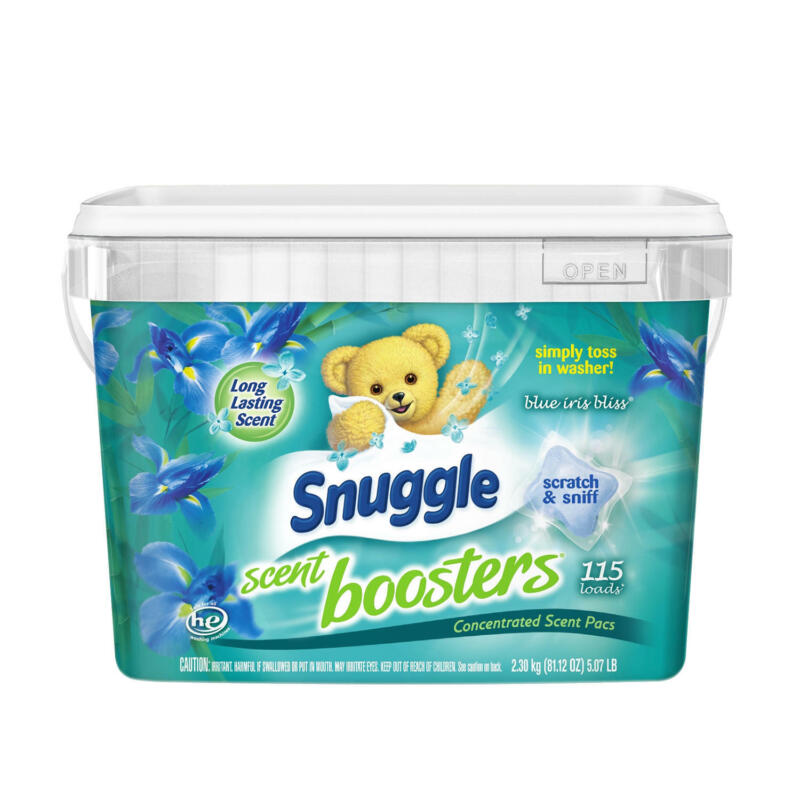 Snuggle Scent Boosters Pacs, Blue Iris Bliss (115 ct.)