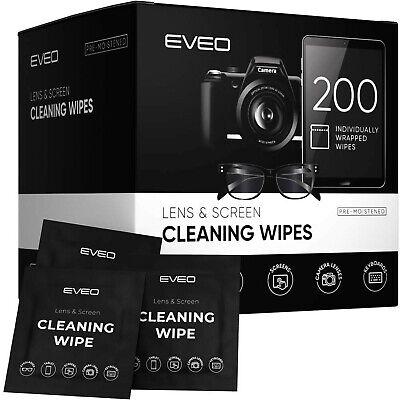 Lens Wipes - Eye Glasses Cleaning Wipe, Eyeglass Cleaner, Screen Wipes, Eyegl...