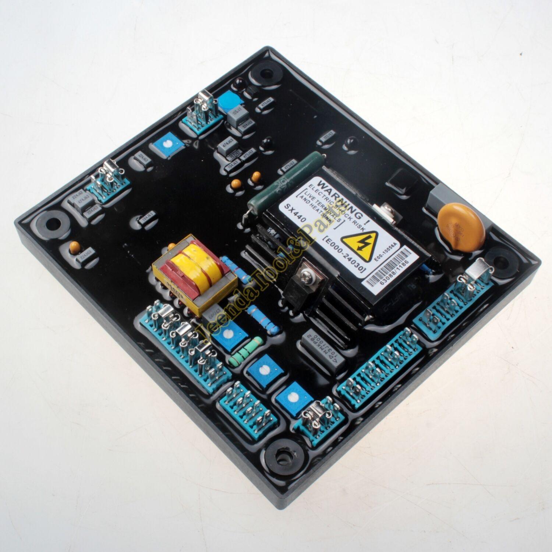 Avr Sx440 Module Automatic Voltage Regulator For Newage Stamford Alternator Wiring Diagram Generator Dho