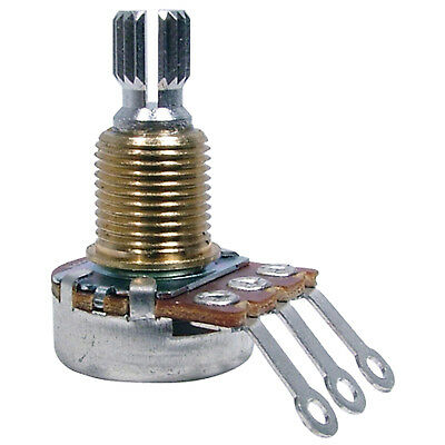 - Bourns Mini Knurled Shaft Potentiometer, 250K Linear