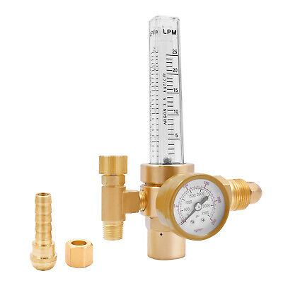 Cga580 Argon Gas Welder Co2 Mig Tig Flow Meter Welding Weld Regulator Gauge