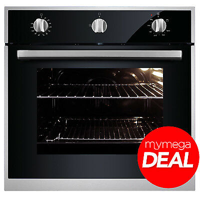 MyAppliances REF28802 60cm Built In Black Single Gas Oven