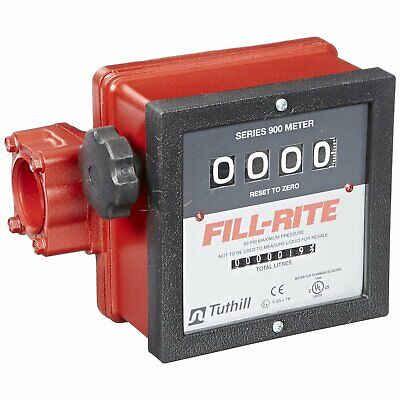 Fill-rite 901cl 23 - 151 Lpm 1-inch Npt Threads Resettable Totalizer Meter