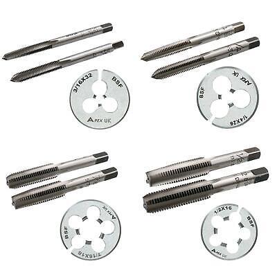 Bsf Tap Die Set Carbon Steel Taper Plug 1 Die Cutter Threading Tool Rethread