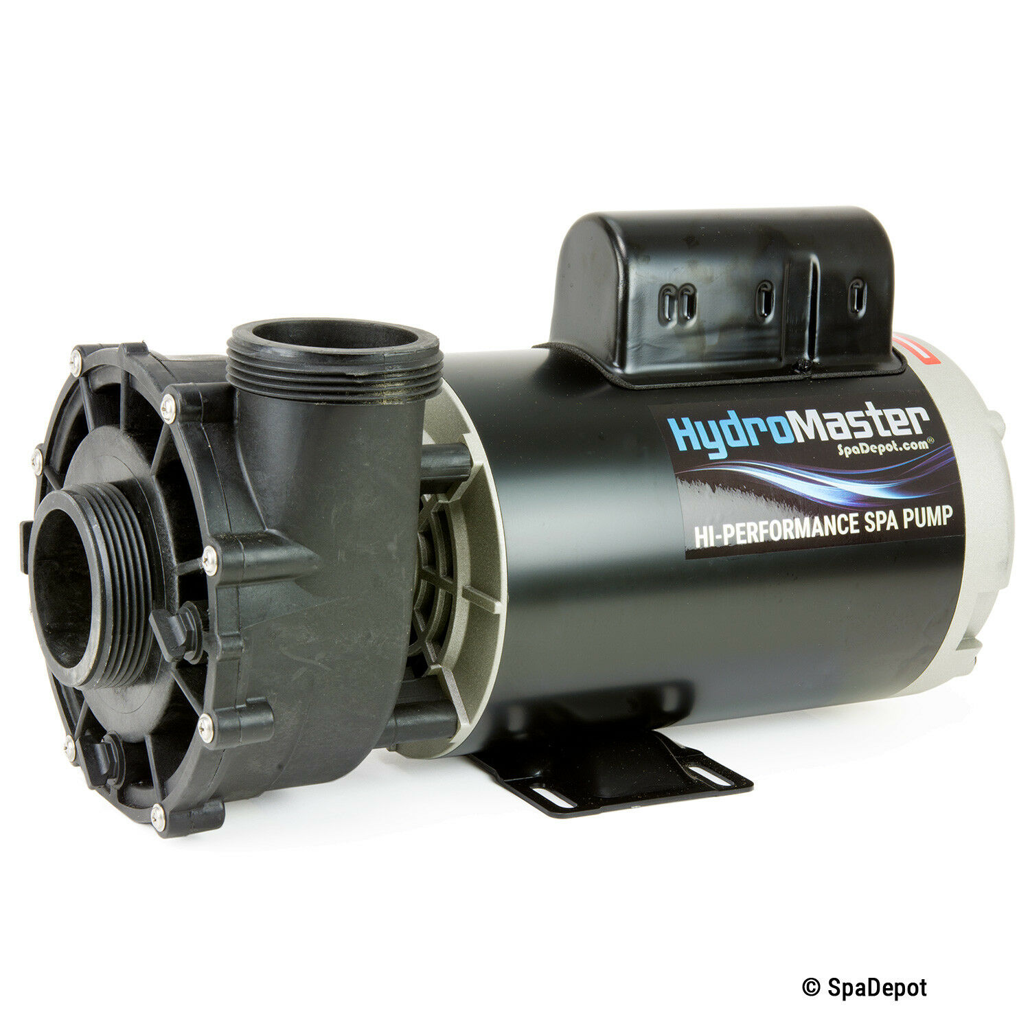 """4 HP HydroMaster Hot Tub Spa Pump 2"""" in/out 56-Frame 2-Speed"""