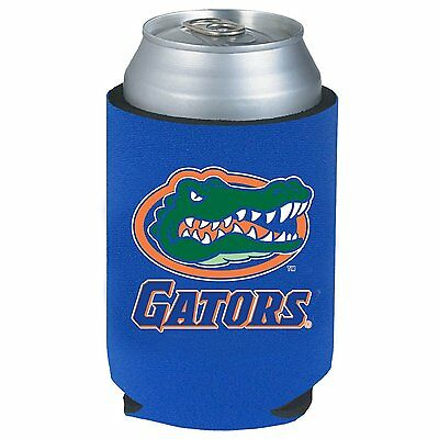 2 Florida Gators Beer Soda Water Can Bottle Koozie Kaddy Holder Ncaa
