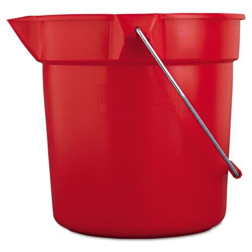 Rubbermaid BRUTE Bucket Red 10QT