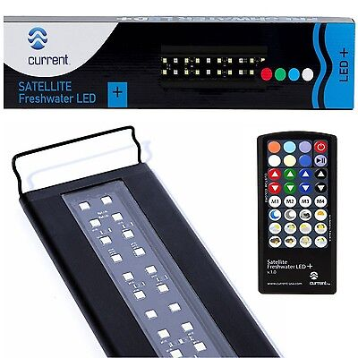 "Led Aquarium Light 36-48"" Freshwater Tank Remote Control Effects Fish Supplies"