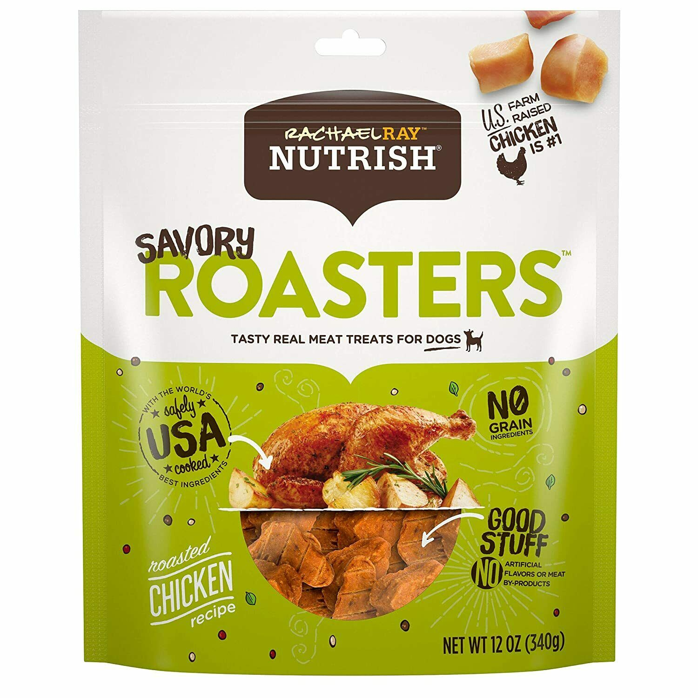Rachael Ray Nutrish Real Meat Dog Treats Savory Roasters - R