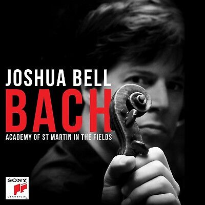 JOSHUA BELL/ACADEMY OF ST.MARTIN IN THE FIELDS - BACH  CD (Joshua Bell St Martin In The Fields)