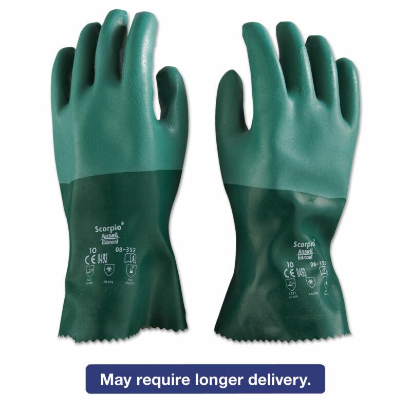 AnsellPro Scorpio Neoprene Gloves Green Size 10 835210PR