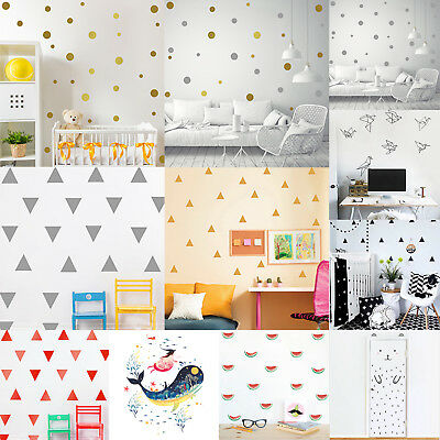 Cute Mural Removable Wall Stickers Decals Kids Baby Nursery Room Home Decoration