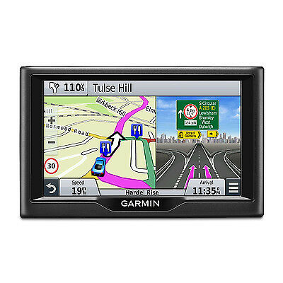 """New Garmin Nuvi 57LM 5"""" Touchscreen Sat Nav With UK And Ireland Lifetime Maps"""