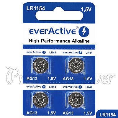 4 X Everactive AG13 LR44 Alkaline Batterien LR1154 A76 SR41 1,5v Angebot Lr44-alkaline-batterien