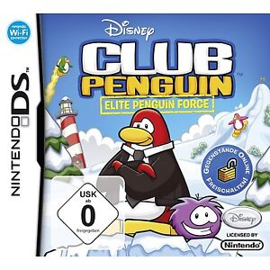 Club Penguin - Elite Penguin Force (Disney) - deutsch - Nintendo DS - Neu / OVP
