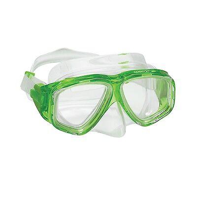 Speedo Dive Junior Recreation Adventure Swim Swimming Mask Goggles Durable Green