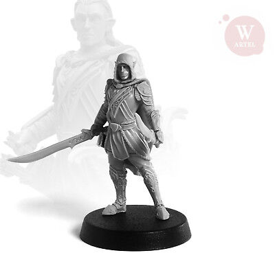 "Warrior Elf Artel ""W"" Miniatures AWM025"