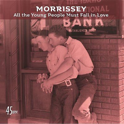 "MORRISSEY - ALL THE YOUNG PEOPLE - NEW 7"" SINGLE (INDIES ONLY)"