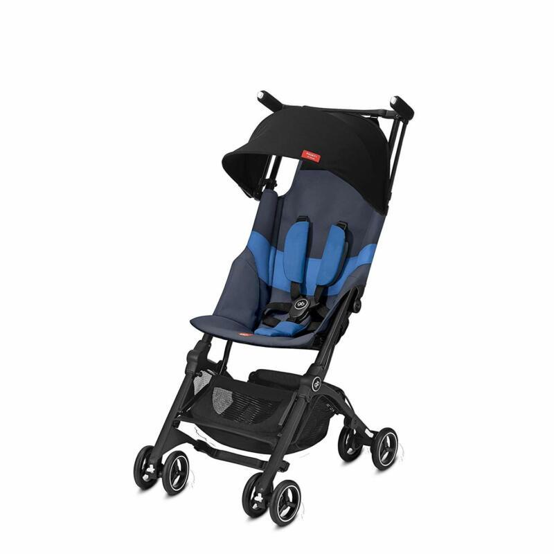 GB Gold Pockit Plus Folding All Terrain Infant Stroller, Night Blue (Open Box)