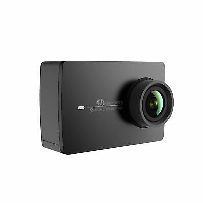 YI 4K Action & Sports Camera, 4K/30fps Video 12MP Raw Image, Live Stream - Black
