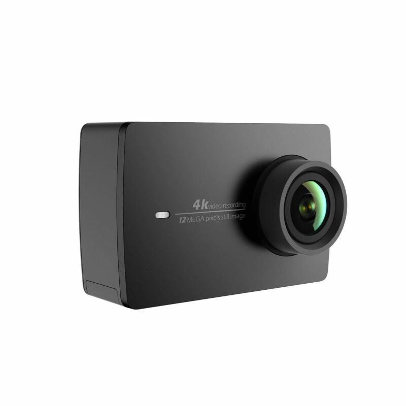 YI 4K Action & Sports Camera, 4K/30fps Video 12MP Raw Image, Live Stream - Black