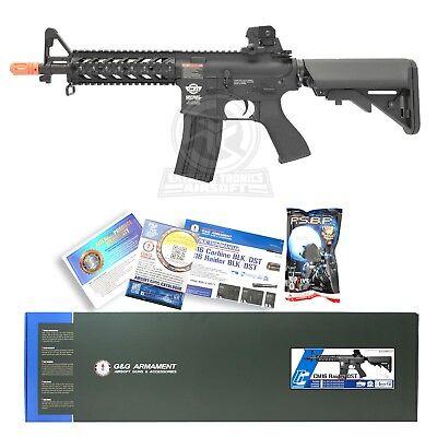 G&G CM Black Airsoft RIS Raider Shorty CQB M4A1 M16 AEG Metal Electric Rifle Gun for sale  South El Monte