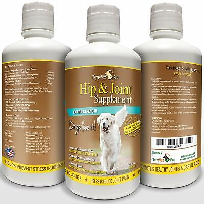 Best Hip and Joint Supplement for Dogs Extra Strength Safe Natural Pain