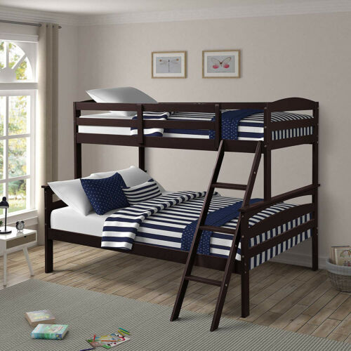 bunk beds twin over full kids adult