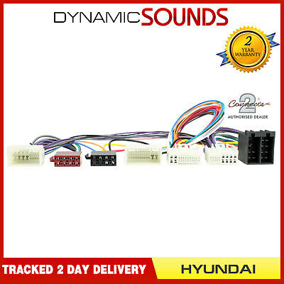 CT10HY04 Parrot SOT T-Harness Adaptor ISO Wiring Lead For HYUNDAI iLoad (2010>)