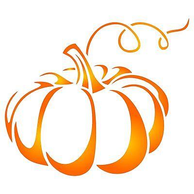 Thanksgiving Pumpkin Stencil Reusable Holiday Vegetable Halloween Wall