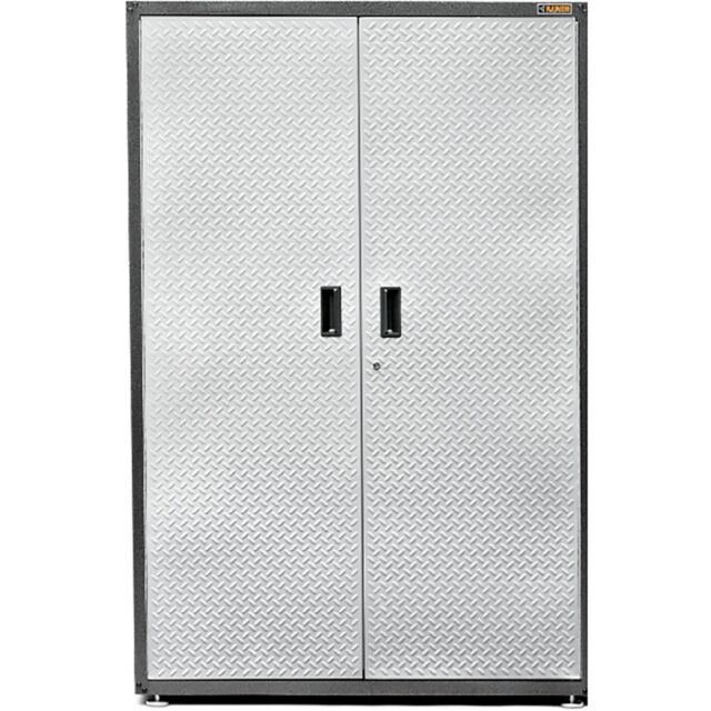 extra large gearbox storage cabinet gladiator steel locking garage shelves new - Gladiator Shelving