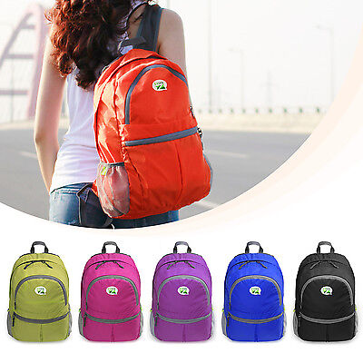 ZaiaZ  Foldable Backpack Camping Out of doors Travel Bag DayBack Rucksack Sport 25L