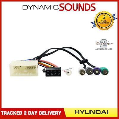 CT20HY07 Wiring Harness Adaptor ISO Loom Lead for Hyundai Santa Fe 2006-2009