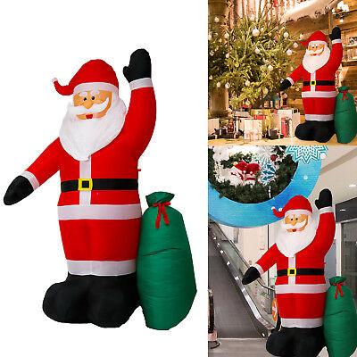 8 FT Christmas Inflatable Santa Claus Air Blown Yard Decoration